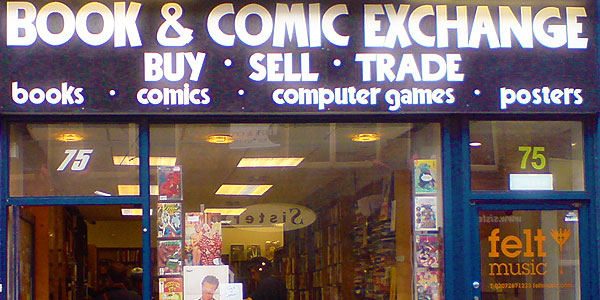 Comic Exchange Shop